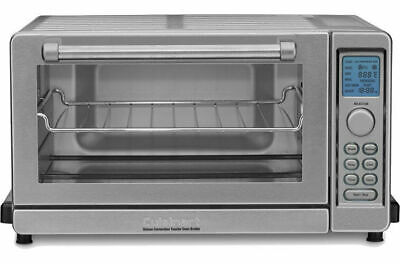 Cuisinart TOB-135 Deluxe Convection Toaster Oven Broiler (Stainless Steel).