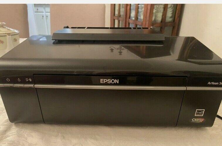EPSON ARTISAN 50 HIGH DEFINITION GREAT CONDITION! PHOTO/ LASER INKJET TECHNOLOGY