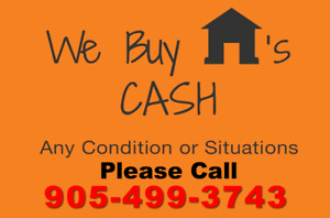 We'll Make You An Offer Within The Day! House for Cash!
