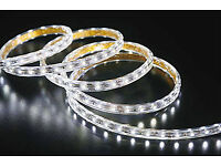 New 240V LED Flat Square Strip Light / Round Rope Light Single Colour RGB Colour Waterproof Outdoor