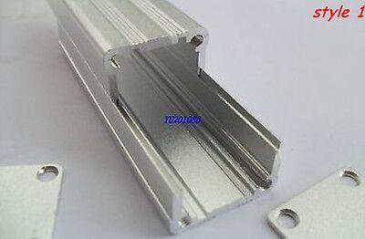 "2pcs Extrusion Aluminum Project Box Enclosure Electronic Case 3.15""x0.98""x0.98"""