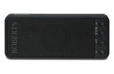Roberts Radio Travelpad LCD Display Bluetooth Wireless Speaker - Black