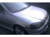 Vauxhall Astra 1.6 16V O/S Front Wing In Silver Breaking For Parts
