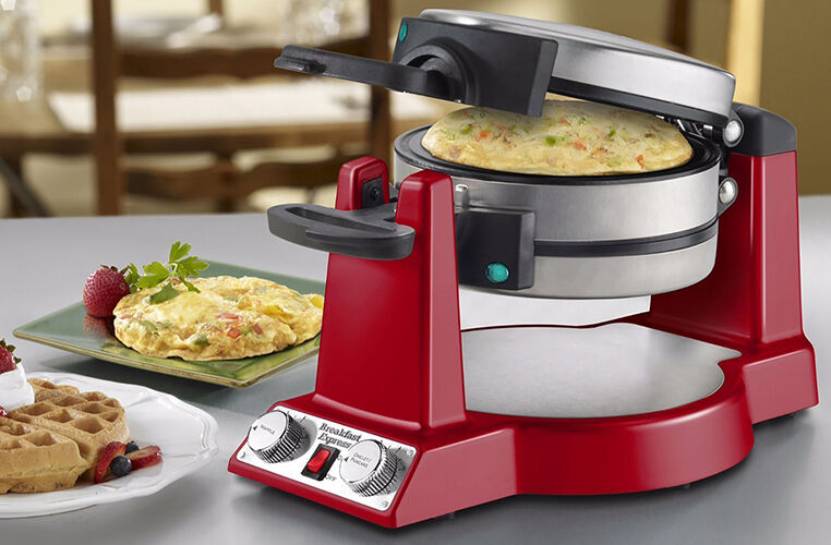 waring pro breakfast express belgian waffle and omelet maker - Waring Pro Waffle Maker