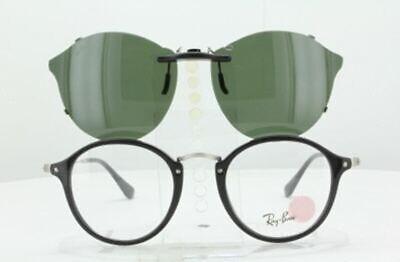 Custom Made for Ray-Ban RB2447-V-49X21-T Polarized Clip-On Sunglasses (Custom Made Clip On Sunglasses)