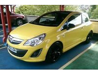 Vauxhall Corsa 1.2 16v limited edition in yellow