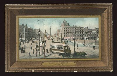 Ireland DUBLIN Sackville Street 1907 border PPC