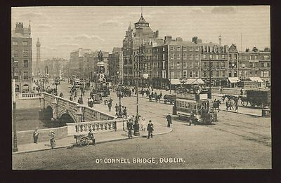 Ireland DUBLIN O'Connell Bridge busy PPC Fergus O'Conner