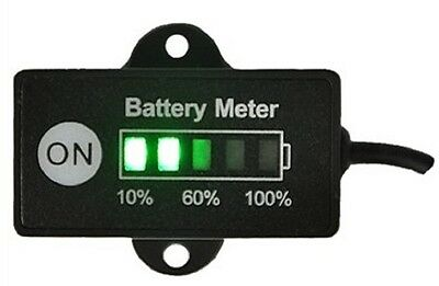 12v DIGITAL BATTERY LEVEL MONITOR  ALTERNATOR METER GAUGE LAMP INDICATOR STATUS