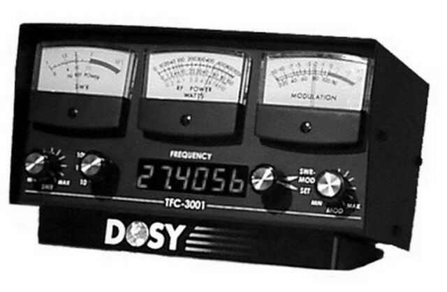 Cb Frequency Counter : Cb ham dosy tfc swr watt meter frequency counter ebay