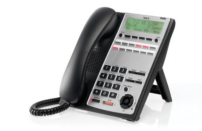Nec Sl1100 Phone Ip4ww-12txh-b-tel Bk 1100061 Black Refurb -1 Year Warranty-