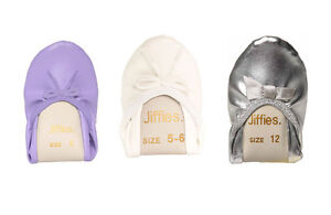 New-GENUINE-Jiffies-Grosby-Girls-KIDS-BALLET-DANCE-SOFT-FLAT-SLIPPER-SHOES