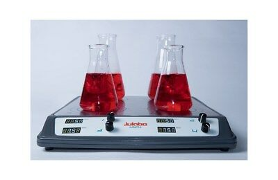 New Julabo Msp4 3-place Digital Magnetic Stirrer 100 To 1500 Rpm