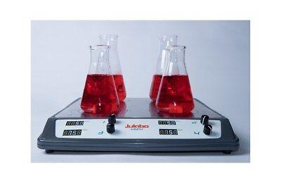 New Julabo Msp4 3-place Digital Magnetic Stirrer 100 To 1500 Rpm