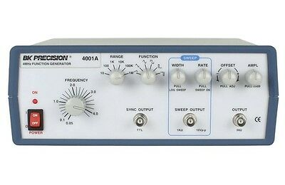 Bk Precision 4001a 4mhz Sweep Function Generator With Dial