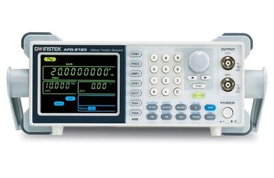 Instek Afg-2125 25mhz Arbitrary Function Generator With Sweep Mode Amfmfsk Mo