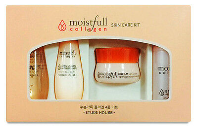 ETUDE HOUSE - Moistfull Collagen Skin Care Trial Kit ( Korea Genuine )