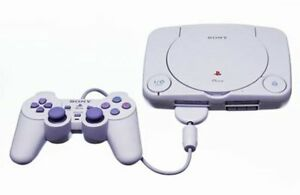 Boxed Playstation 1 With Controller and Memory Cards