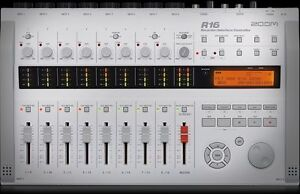 zoom r 16 recording interface