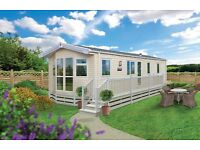 BRAND NEW STATIC CARAVAN FOR SALE WITH STUNNING SEA VIEW NEAR GLASGOW AYR LARGS WEST COAST SCOTLAND