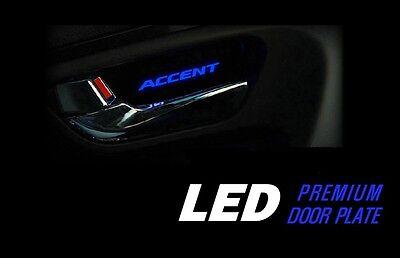 LED Premium Inside Door Catch Plate 4P For Hyundai Accent Solaris 2011 2016