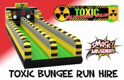 Smack Amusements - Toxic Bungee Run Hire