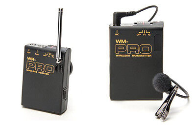 Pro Fx1000 Wlm Wireless Lavalier Mic For Sony Hdr Fx1 Fx7...
