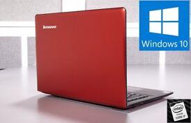 "13.3"" Intel Core i7 Lenovo U310 Windows 10 Laptop - 8GB RAM, 128GB SSD"