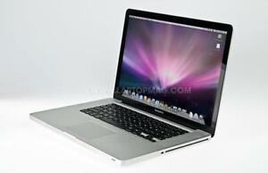 "Apple Macbook Pro 15"" Core 2 Duo, 8 GB RAM, 320 GB HDD, Comes with FREE SOFTWARE and WARRANTY - FREE CASE"