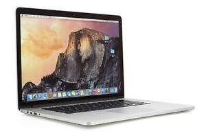 Liquidation des Macbook, Macbook Pro 15 Retina 2015 Seulement 1450$