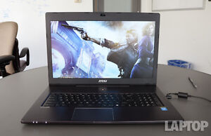 Virtually new 2014 Gaming MSI GS70 (2OD-002US model) barely used