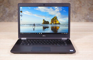 DELL Latutude E5470, Core i5-6300, 256 SSD, 8GB RAM, Windows 10
