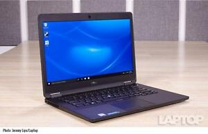 New in Box Dell Latitude Ultrabook E7470 Core i5 Laptop, Windows 7 & 3 year warranty