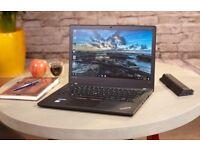 "Lenovo ThinkPad T470 - 14"" - 7th Gen Core i5 7200U - DDR4 8 GB RAM ( 2133 MHz) -256 GB NMVe SSD"