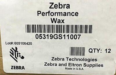 5319 Wax Ribbon - Zebra 05319GS11007 Wax Ribbon 4.33inx242ft 5319 Performance 0.5in core- Thermal