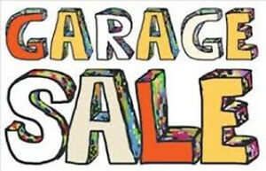 GARAGE SALE   Aug 18 & Aug 19/2018