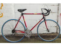 Vintage racing bike from France, good commuter new brakes, tyres, serviced - Welcome for test ride