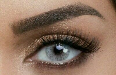 Gray Contacts (Best Realistic Illusion For Natural Dark Colored