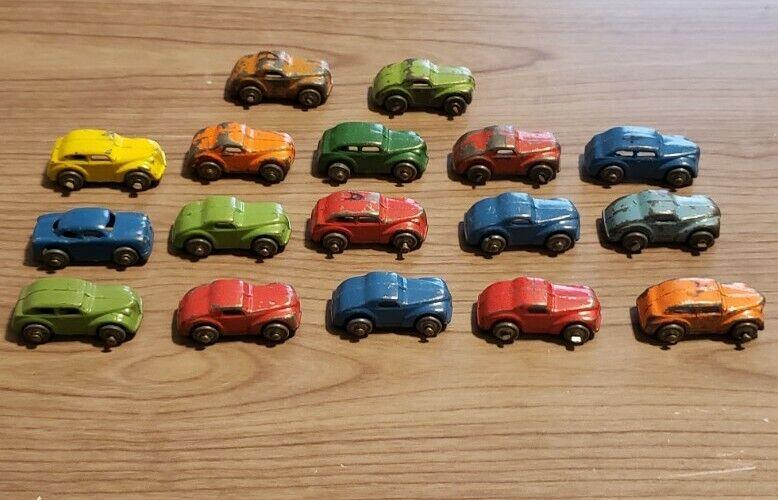 Vintage Mini Lead Toy Cars Lot Tiny Barclay?