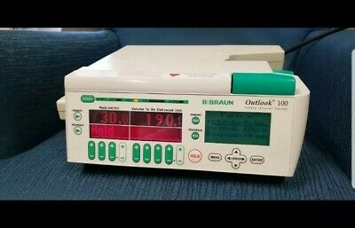 Lk B Braun Medical - Outlook 100 Safety Infusion System Iv Pump
