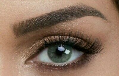 Green Contacts (Best Realistic Illusion For Natural Dark Colored