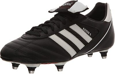 New Adidas Kaiser 5 Cup Men's Football Boots Black - Size 7 UK / RRP £85 / BNIB
