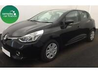 £165.72 PER MONTH BLACK 2013 RENAULT CLIO 1.5 DYNAMIQUE NAV DIESEL MANUAL