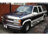 American Chevrolet Suburban V8 5.7 petrol/LPG converted 1999
