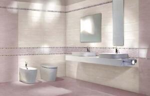 Piastrelle ceramica pavimento rivestimento bagno lilla - Cotto petrus piastrelle ...