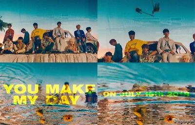 Seventeen[You Make My Day]5th Mini Album Set The Sun CD+Poster+etc+Gift+Tracking