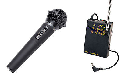 Pro Whm Wireless Dslr Handheld Microphone For Canon 1d X ...