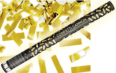 Konfetti Shooter Party Popper gold Folien Konfetti Kanone XXL 80 cm ! Hochzeit (Hochzeit Konfetti Poppers)