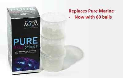 Evolution Aqua Pure Reef Balance 60 Balls Marine Aquarium Bacteria Fish Tank