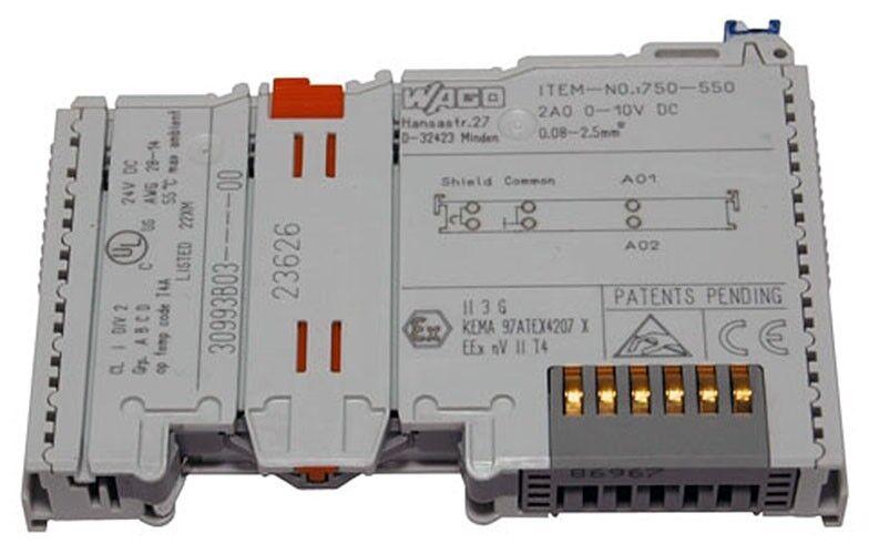 WAGO I/O Module #750-550 ( 25C038 )